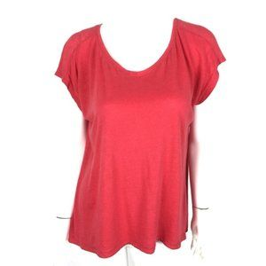 Eileen Fisher Linen Short Sleeve Tee Medium